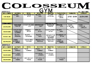   COLOSSEUM GYM    VACU POWER NEO  O--  23510-38809