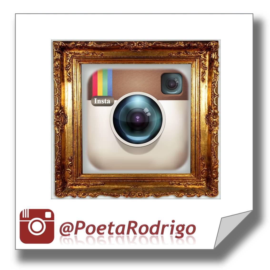 Visite minhas poesias no Instagram