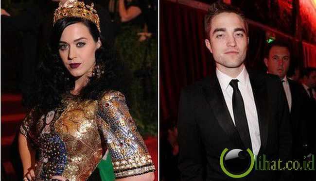 4. Katy Perry dan Robert Pattinson