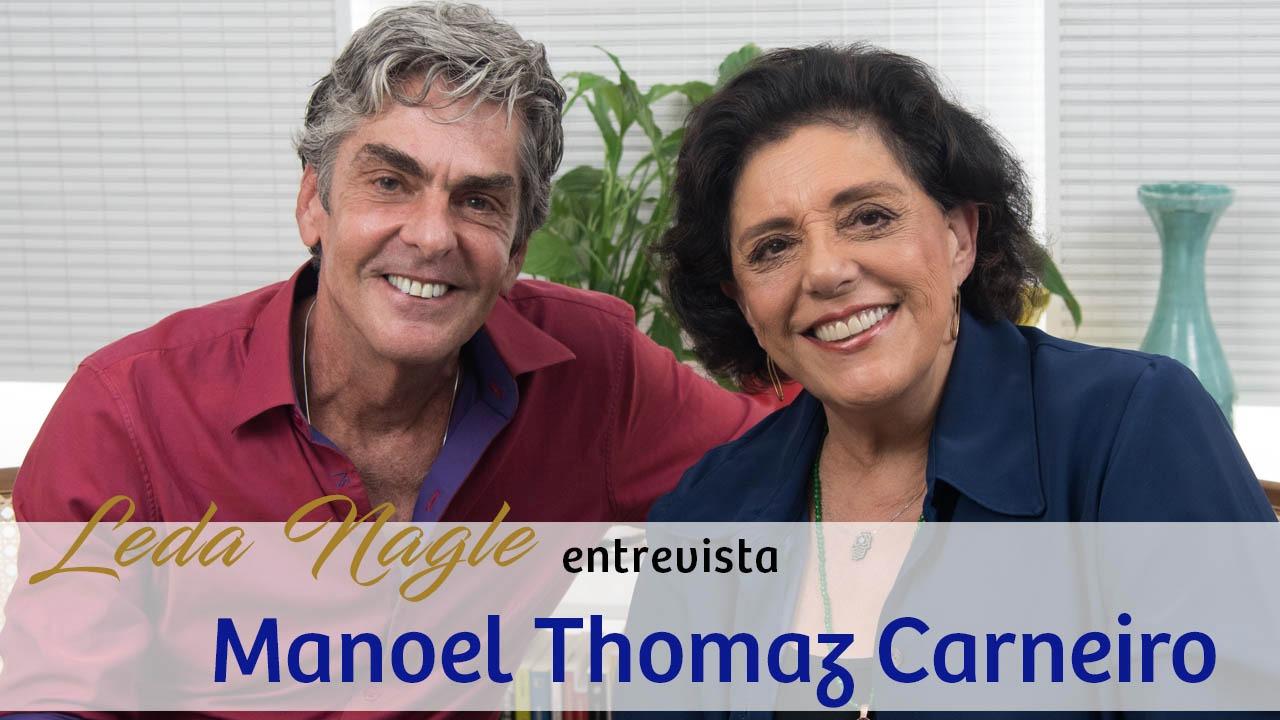 Entrevista no canal Leda Nagle. Maio de 2018