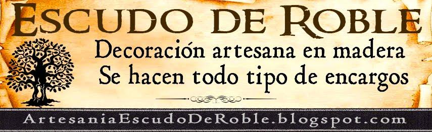 Artesania Escudo de Roble