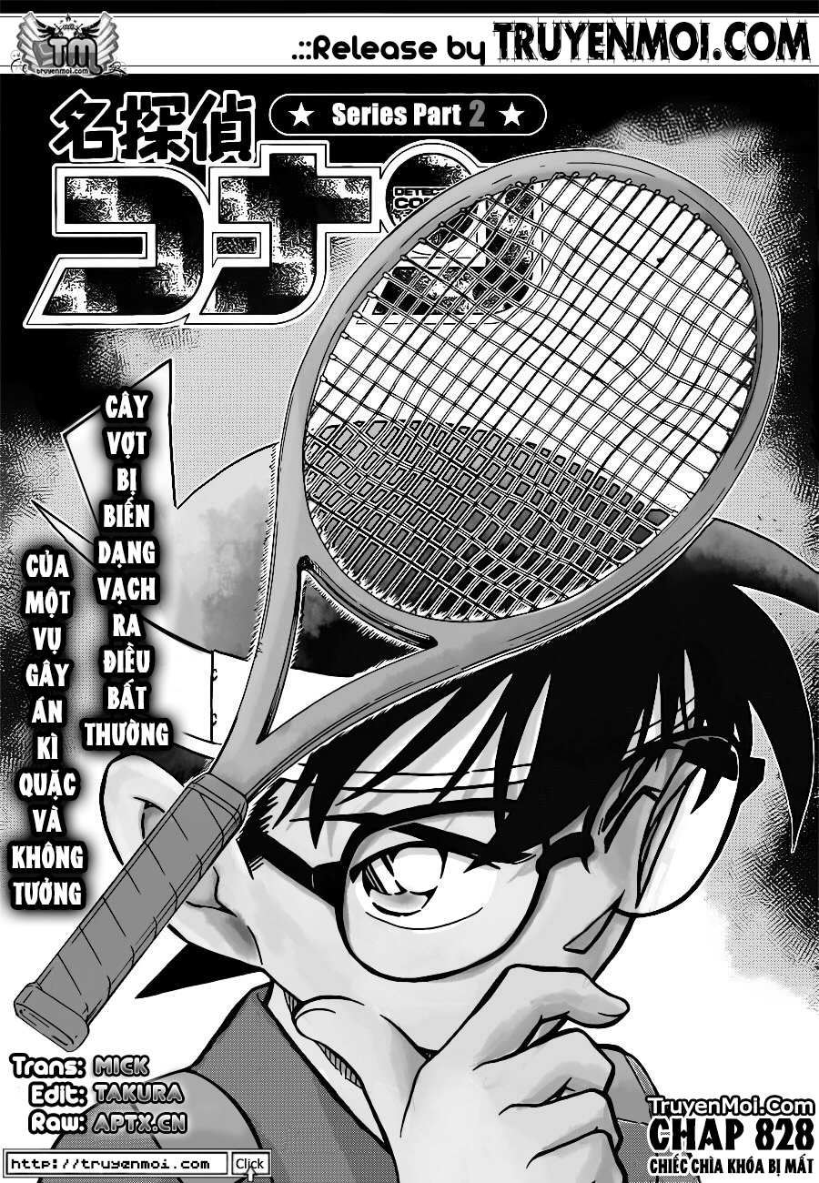 Detective Conan - Thám Tử Lừng Danh Conan chap 826 page 1 - IZTruyenTranh.com