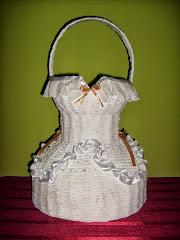 Kosz Suknia Ślubna