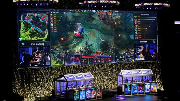 The International 2015, campeonato de Dota2, En VIVO