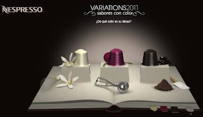CÁPSULAS NESPRESSO VARIATIONS 2011