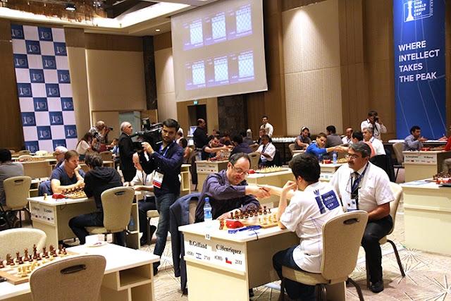 Copa del Mundo de Ajedrez 2015 - Gelfand - Henriquez