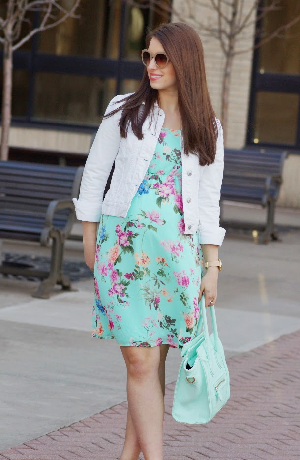 Happy Medley: Floral Maternity Dress