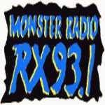 Monster Radio DWRX 93.1 MHz logo