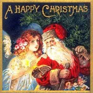 vintage merry Christmas Images