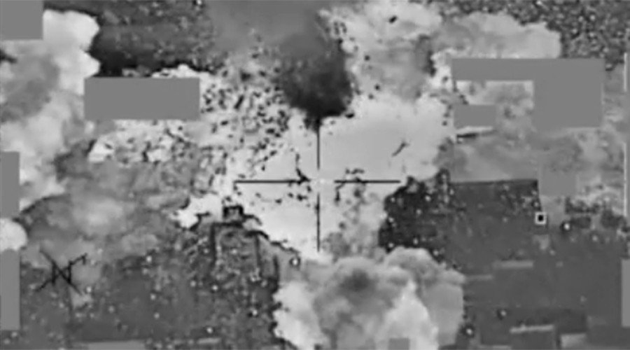Pentagon video shows US bombing ISIS cash depot near Mosul