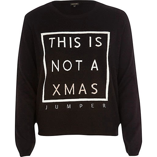 not a christmas jumper