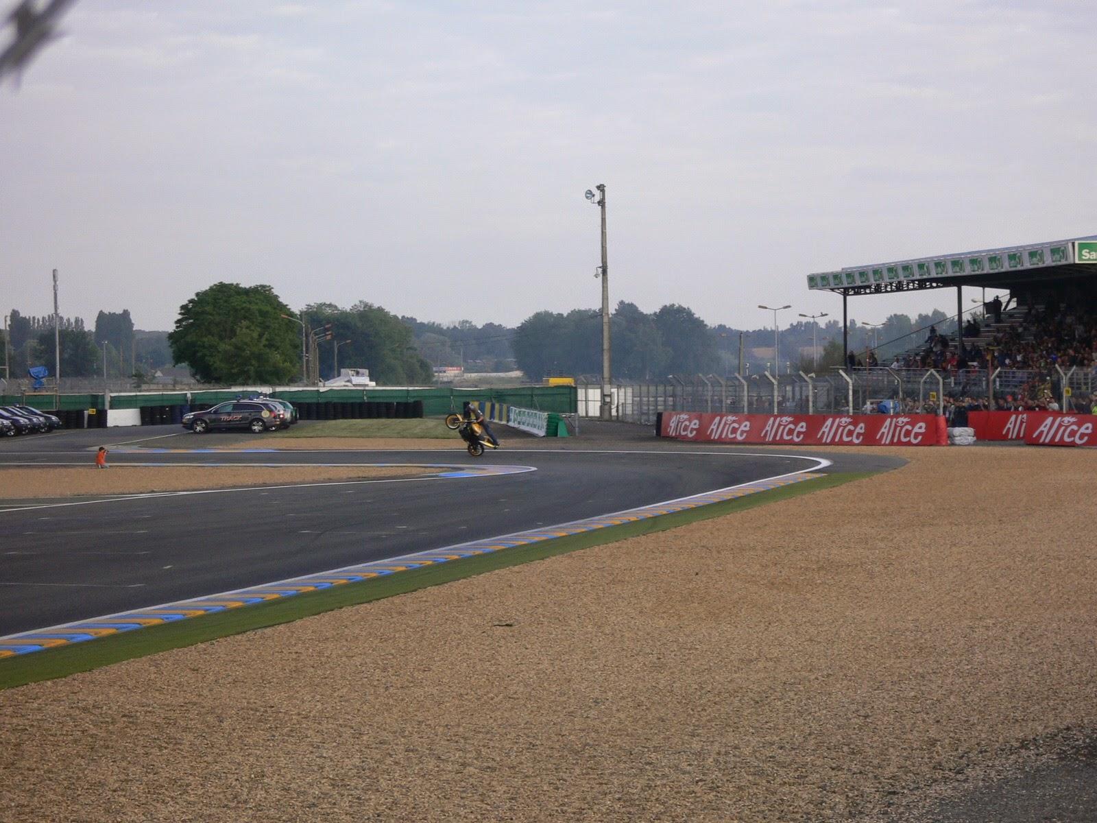 AC Farias en Le Mans