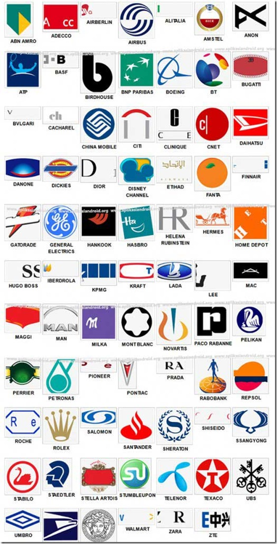 Logo Quiz Answers Level 3 | Logo Wallpaper