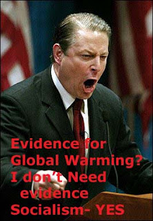 Al Gore Hysterical, Man Made Global Warming, Idiot