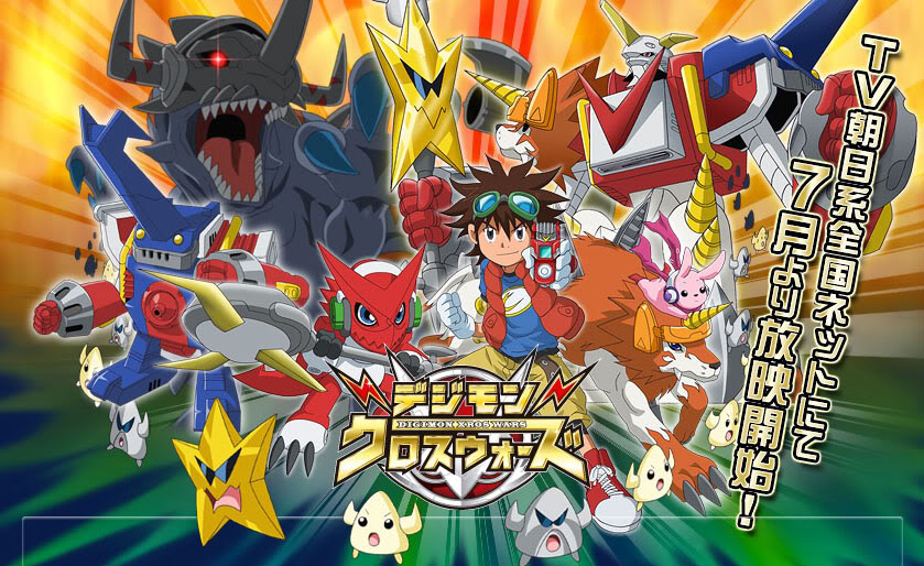 Banganime: Digimon Xros Wars S1 [Subtitile Indonesia]