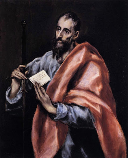 St. Paul, apostle to the gentiles