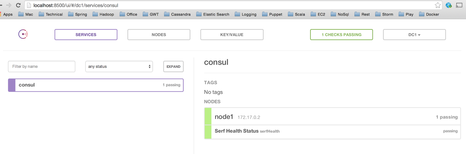 Consul service discovery in docker containers technical blog for Consul bootstrap