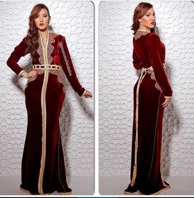 robes 2015 caftan marocain velours de luxe caftan marocain boutique 2018 vente caftan au maroc. Black Bedroom Furniture Sets. Home Design Ideas