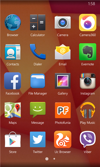 Kitkat Launcher Untuk Windows Phone