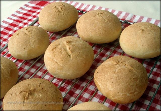 bułki pszenne, przepis na bułki pszenne, Fannie Farmer, retro kuchnia