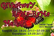 Giveaway Rama Rama Merah