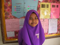 Pelajar UPSR Syamimi