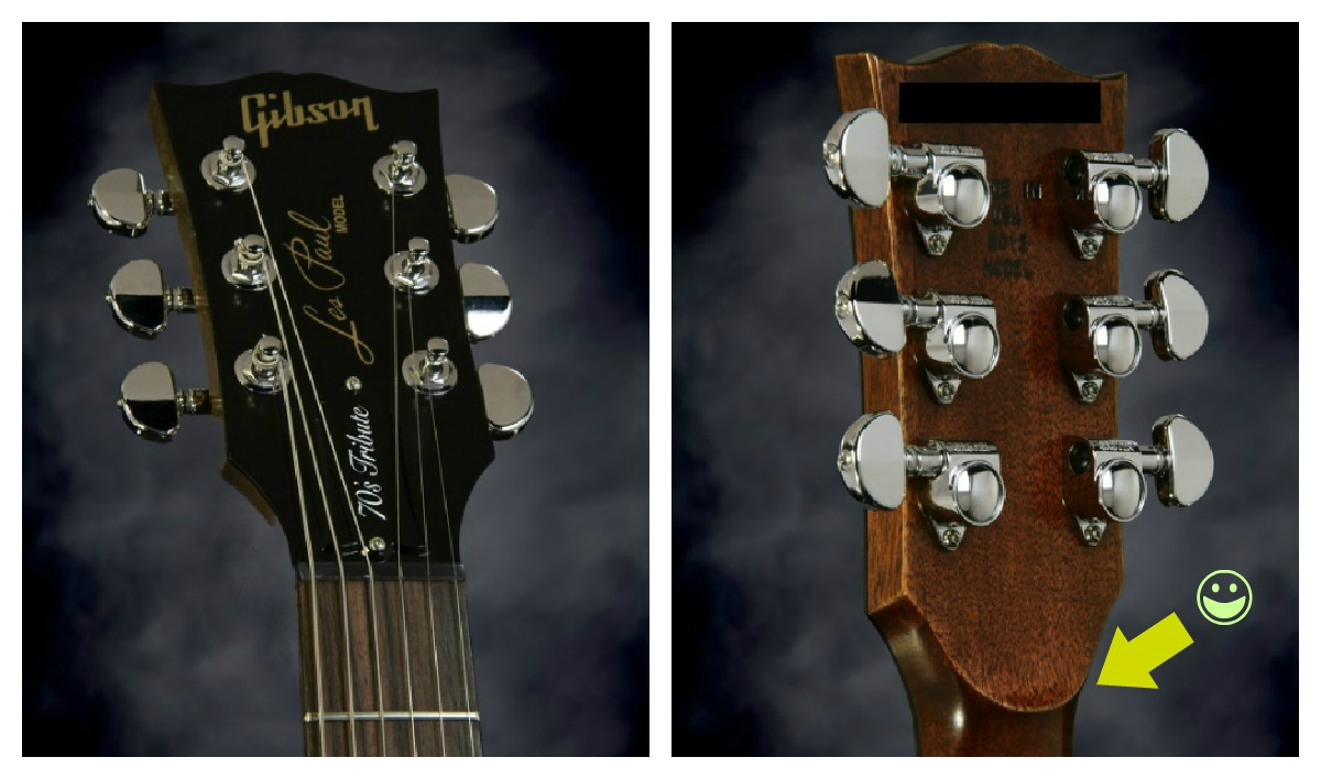 Search results for what should an absent note look like for Gibson les paul headstock template