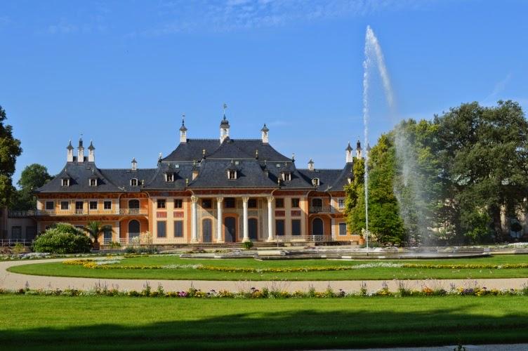 Pillnitz, Sachsen, Deutschland, Germany, Německo, chateau,