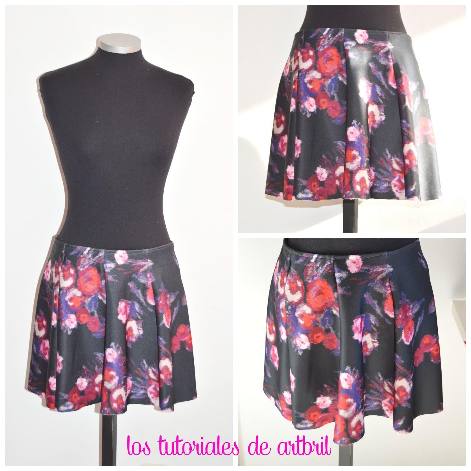 como hacer una falda con patrones tutorial falda sencilla