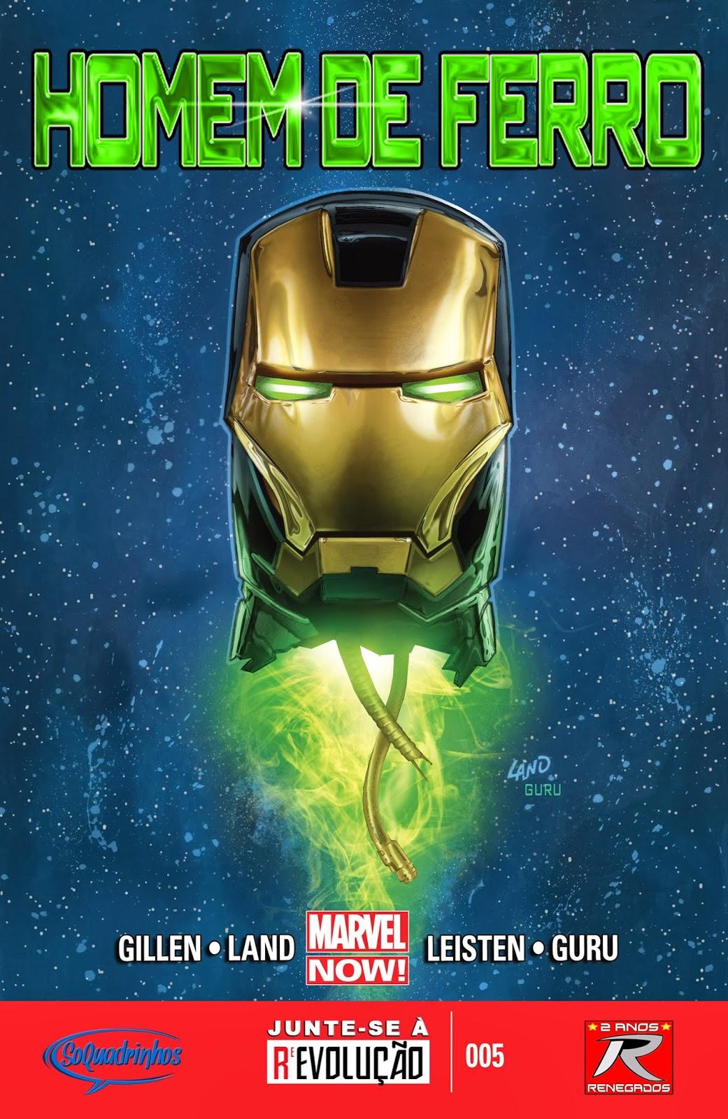 Nova Marvel! Homem de Ferro v6 #5