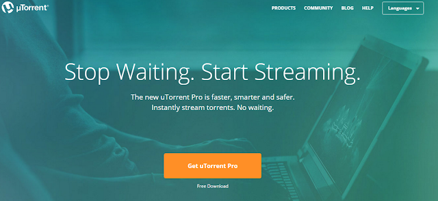 uTorrent or BitTorrent