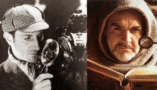 Sherlock Holmes y Fray Guillermo de Baskerville