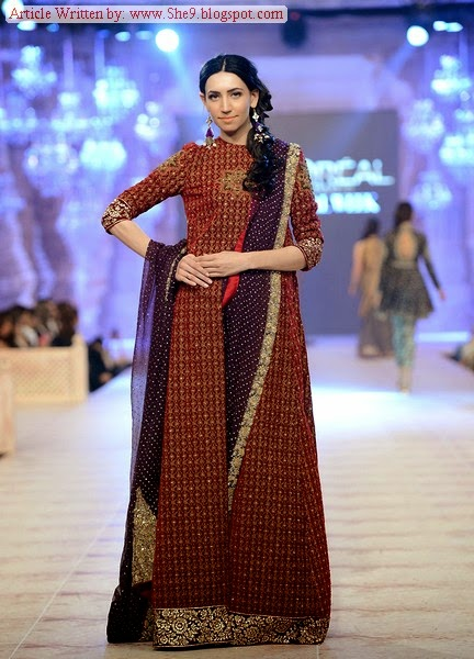 Sana Safinaz Bridal Dresses in PFDC L`Oreal Paris Bridal Week 2014