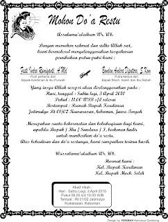 contoh ucapan tasyakuran pernikahan download gratis .