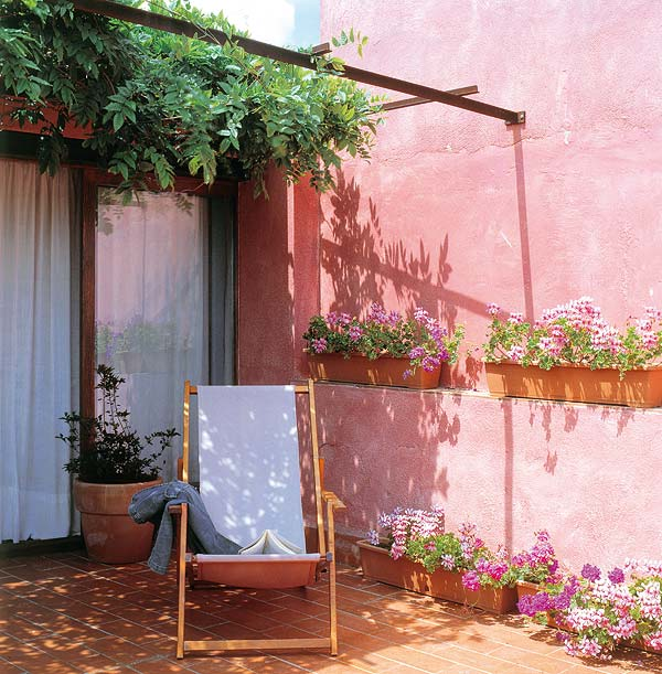 Estilo rustico patios rusticos encantadores for Pisos para patios rusticos