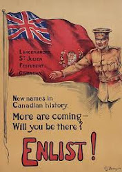 Canadian Enlistment Poster