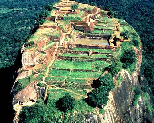 Sri lankan spirit sigiriya rock fortress sri lanka for Beau jardin bath rocks