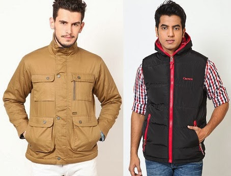 Flat 25% Off + Extra 30% Off on  Men's Jackets (WRANGLER, PUMA, DUKE, PEPE JEANS, FILA, REDTAPE & many more)