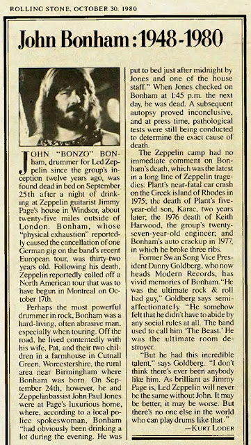 Pictures at eleven - Led Zeppelin en photos - Page 6 John+Bonham+Death+Billboard+Magazine+September+25%252C+1980