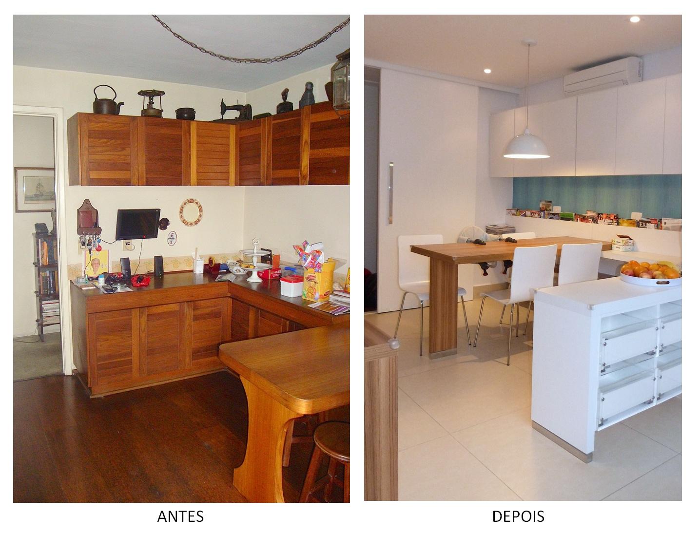 Antes e depois apartamento repaginado no itaim - Reformas de apartamentos ...