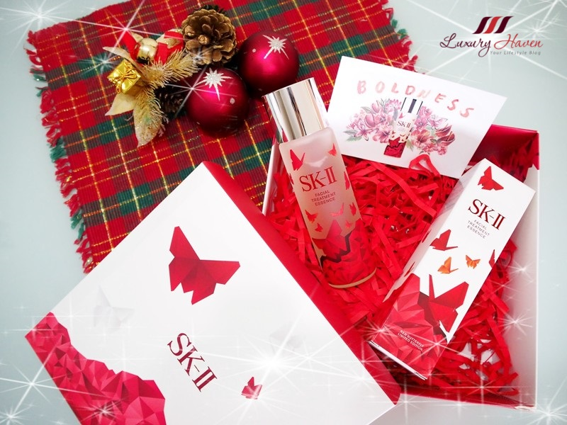 sk ii festive limited edition facial treatment essence