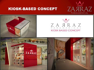 Kiosk zarraz paramedical, Mini SPA zarraz paramedical, Mobile SPA, Facial ke dari rumah