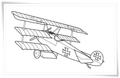 Flugzeuge Malvorlagen kostenlos zum Ausdrucken