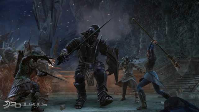 Capturas El Señor de Los Anillos La Guerra del Norte PC FULL 2011 Español Descargar DVD9