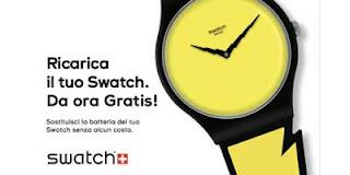 batteria gratis swatch