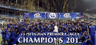 Mumbai Indians IPL 8 Winner