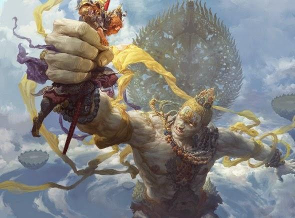 Fenghua Zhong ilustrações fantasia estilo oriental impressionante lenda sun wukong jornada oeste