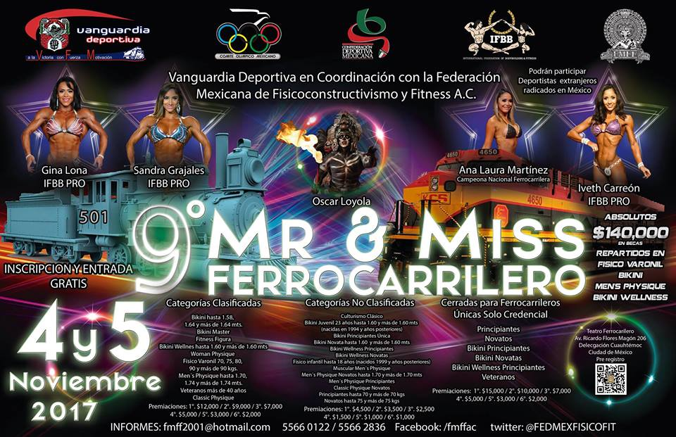 9 Mr & Miss Ferrocarrilero
