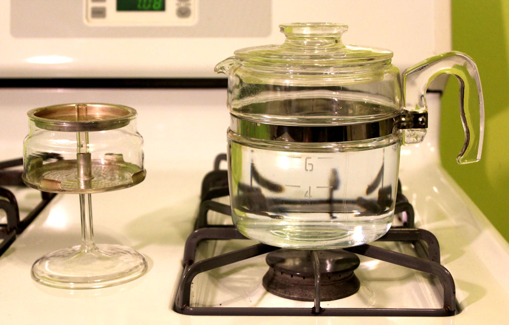 Junk And Howe Pyrex Percolator Made In The Usa
