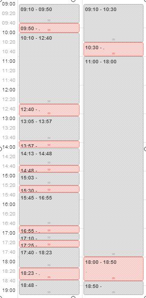 Evaluación de los registros de tiempo en primaERP TIME TRACKING